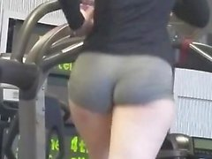 Heavy Pawg that is Honest in Gymnasium
