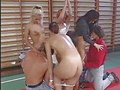 School Gym Orgy