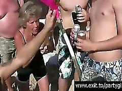 Scandalous Public Beer and Sex Party on the beach