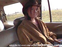 farmgirl naked around the iowa farm