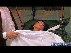 (Audrey bitoni) Patient chaud venu au docteur et obtenir cloué dur vid-03