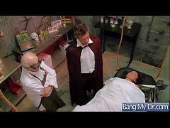 (Bitoni Audrey) Paciente quente vem ao médico e obter Nailed duro vid-03