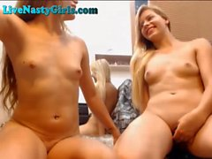 Two Hot Webcam Teens Playing