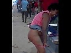 Couple cazzo di nei pubblico sul Kiambu strade di