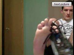 Heterosexuales pie en webcam # ciento cuarenta y seis