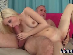 Piper Perri rides on a massive boner