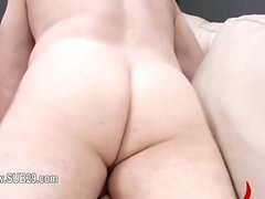 Extremely hardcore BDSM rope sexing with anal action