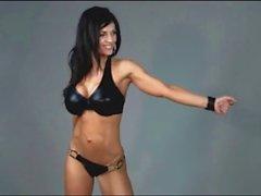 Denise Milani à en latex Fetiche - la non nude