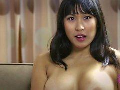 Mia Li on the set of Skye Karley America`s Newest Sex Symbol