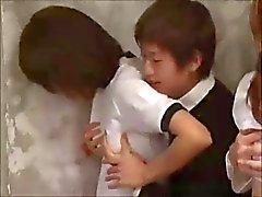 Красивых девушек Япончик School сосут и трахают В хороших оценок