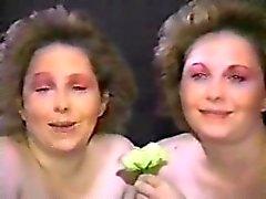 Amateur MILF Twins giving head