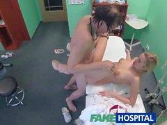 médecin américain FakeHospital baise infirmière sexy