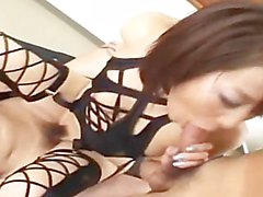 angelic sexy lingerie and asian groupsex