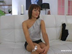 Galina Galkina loves anal sex while having her heels on.