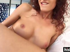 Young babe satisfies a kinky guy