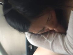 MILF Blow And Swallow In The Car