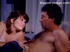 Erica Boyer John Leslie Rachel Ashley in vintage porn video
