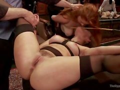 Penny Pax and Dani Daniels at the Upper Floor