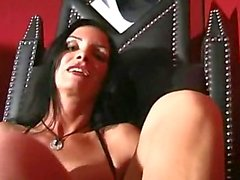 german long domination femdom in leather
