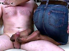 Sexy Wife pantyhose footjob 2
