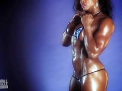 Alexis Ellis Hot Topless Female Muscle Video