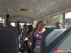 Teen Maddy OReilly fucked in school bus