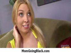 Busty mom milf rides black monster cock 24