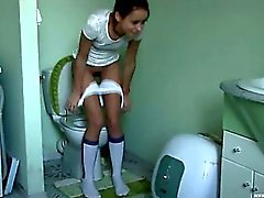 croatian Natasha at water closet