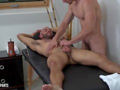 Austin Wilde Fode Joey Moriarty - Bareback Massage