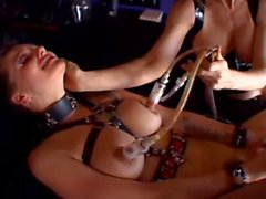 Belladonna's Titty Milking Lezzie Torture