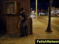 FetishNetwork Holly Hendrix bound public