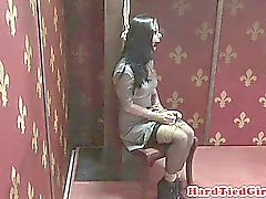 Nt punished submissive caned as extra torment