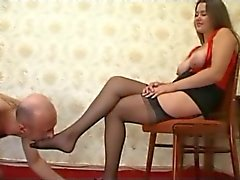 Nylon Foot Goddess Worshipped