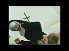 Licking & a mp_ Sucking A Nun&#039_s Asshole