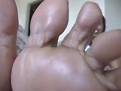plump ebony feet