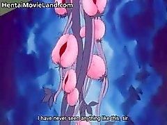 Carino Quadri anime bionda dimostra titties parte3