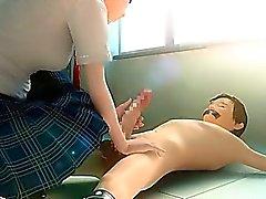 Blowjob hentaï 3D de