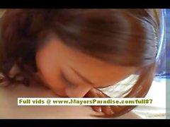 Koisaya Китайская девочка наслаждается езда на напряженный член