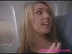 girl get fuck in Airplane xemsex24h