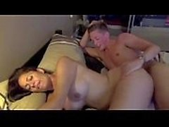 Busty MILF gets fucked by a younger man