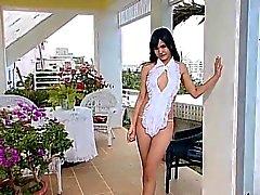 Eruna Shiina Sexy White Outfitt - non nude
