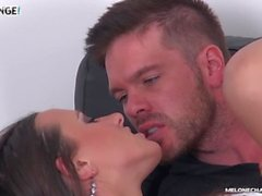 Ryan Ryder fuck czech pornstar Mea Melone in her tight ass & creampie