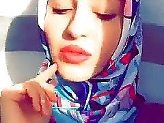 Türkçe turbanli Hijab Sıcak Dudaklar Var