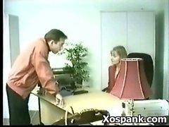 Pervert Chick Fancying Bondage Spanking