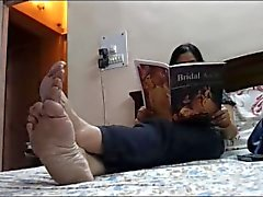 Indian bbw dirty stinky feet