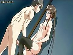 Teen anime sweety gets rammed