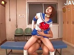 Japanese Slut Giving Head