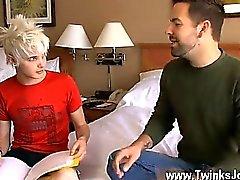 Twink video Preston Steel isn't interested in smallish talk,