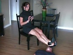 Pathoni feet stool slave