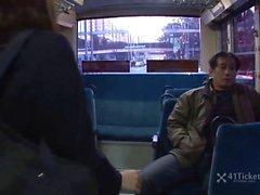 Yayoi Yoshino Caught in Bus Gangbang Uncensored JAV-